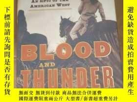二手書博民逛書店Blood罕見and Thunder: The Epic Sto