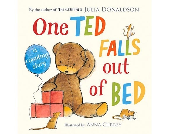 One Ted Falls Out Of Bed 掉下床的泰迪熊故事書