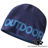【OR 美國】Outdoor Research Booster 兒童雙面保暖羊毛帽『暗藍/湖藍』244870 露營.保暖帽.帽子