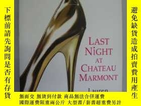 二手書博民逛書店Last罕見Night at Chateau Marmont(
