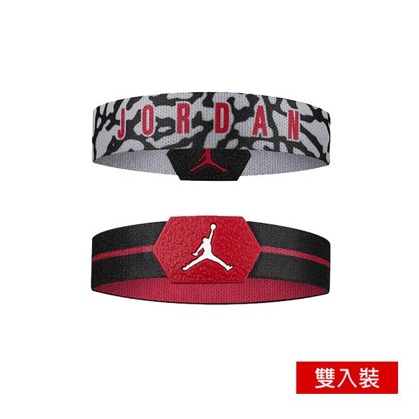 NIKE JORDAN BALLER BANDS 手環 排汗 彈性手環 籃球手環 雙入裝 J1000116【樂買網】