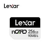 Lexar® NM nCARD 90MB/s 記憶卡-256GB
