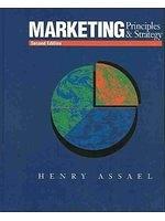 二手書博民逛書店《Marketing: Principles & Strateg