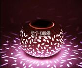 草坪燈 太陽能陶瓷燈戶外水led裝飾照明小夜燈七彩燈創意燈禮品燈 卡菲婭