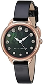 Marc Jacobs 點點黑色真皮腕錶  MJ1513