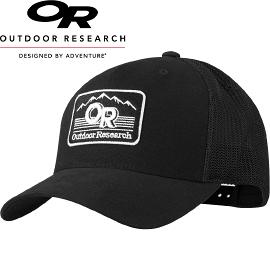【Outdoor Research 美國 ADVOCATE TRUCKER CAP 舒適棒球帽〈黑〉】243525/棒球帽/鴨舌帽/遮陽帽