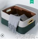 輕奢衣櫃收納箱大號家用衣物整理儲物箱布藝放衣服零食盒玩具筐子 NMS小艾新品