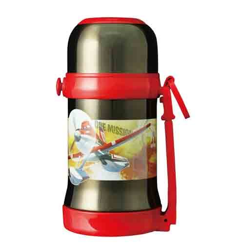 ★funbox生活用品★《LEing》迪士尼飛機總動員PLANES隱形背帶保溫保冷水壺_RD00027