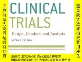二手書博民逛書店Clinicaltrials:罕見Design, Conduct