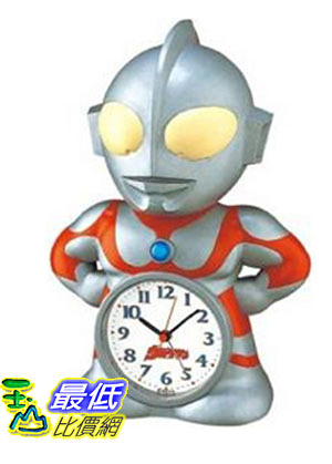 [東京直購] SEIKO CLOCK JF336A 時鐘 鬧鐘 鹹蛋超人 奧特曼 超人力霸王 Ultraman Alarm Clock
