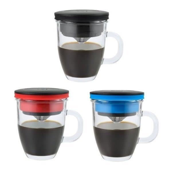 PO: 不銹鋼濾杯馬克組(3色可選) 咖啡杯 保溫杯  保冷杯 ◎花町愛漂亮◎