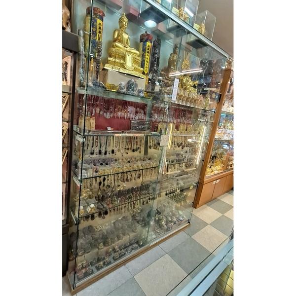 強化展示玻璃櫃 {二手品}須自取不提供配送(物品在台北市)