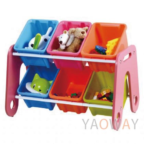 【耀偉】樹德 玩具收納箱MN-HA06-兒童/收納/辦公