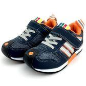 《7+1童鞋》中童 日本IFME 輕量透氣 機能鞋 運動鞋  C437 藍色