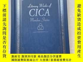 二手書博民逛書店Literary罕見Works of CICA Member StatesY406201 出版2012