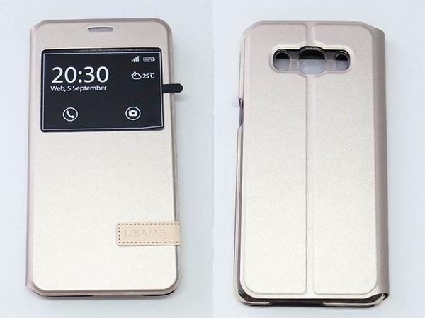 USAMS Samsung Galaxy J5 (2016新版) 側翻手機保護皮套 慕格系列