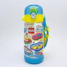 日本  TOMICA 小汽車 透明按壓式 直飲水壺480ml PDDR5(0636) -超級BABY