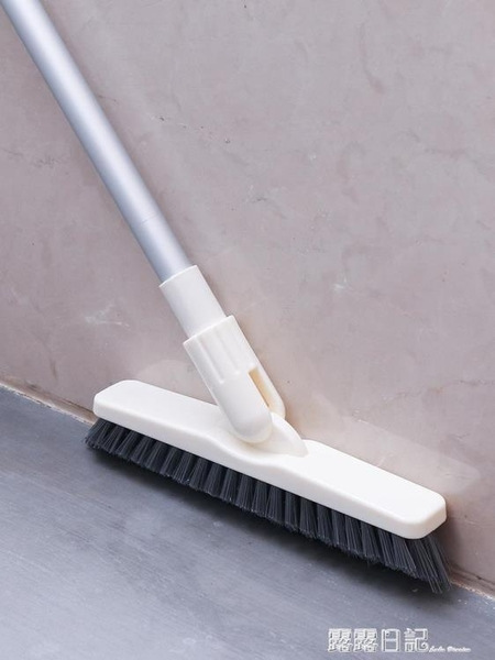 長柄硬毛縫隙刷衛生間浴室廚房地板刷瓷磚地磚牆角無死角清潔神器 露露日記