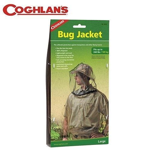 丹大戶外【Coghlans】加拿大 BUG JACKET 防蚊蟲上衣 0059