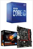 【自組DIY兩件組I3】Intel i3-10100+技嘉 B560M GAMING HD