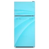 小冰箱小型家用雙門宿舍冷凍冷藏電冰箱節能靜音   艾維朵  DF