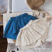 19夏季新品 兩色裙褲 女童短褲外穿百搭闊腿短褲寶寶短褲薄款褲子