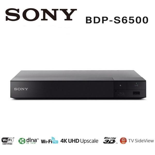 《名展影音》 SONY 全高清藍光 BDP-S6500 4K Upscale 藍光播放機