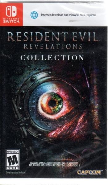 【玩樂小熊】現貨中Switch遊戲 NS 惡靈古堡 啟示合輯 Resident Evil 中文版