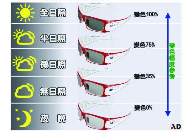 AD科技光學變色鏡片運動太陽眼鏡Absolute(ABS)CH系列-1