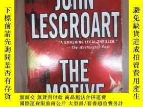 二手書博民逛書店外文書罕見THE MOTIVE(共436頁,32開)Y15969