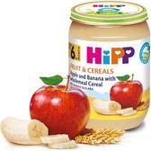 Hipp 喜寶 有 機蘋果香蕉穀類全餐 190g x6罐 570元