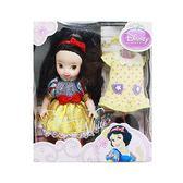 《 Disney 迪士尼 》4吋迷你 白雪公主 ╭★ JOYBUS玩具百貨