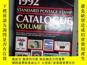 二手書博民逛書店SCOTT罕見1992 STANDARD POSTAGE STA