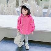 女童網紅外套秋裝2020年新款2小女孩韓版夾克上衣3兒童洋氣童裝潮 蘿莉小腳丫