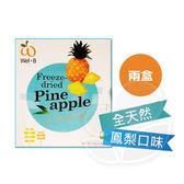 【兩盒】Wel.B 全天然冷凍乾燥鮮果乾 - 鳳梨口味(盒裝)30g【佳兒園婦幼館】