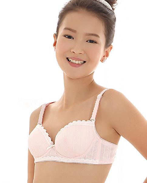 3/4薄模杯干爽舒适内置软塑V型胸罩-ami031124271