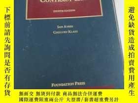 二手書博民逛書店Studies罕見In Contract Law 第八版 合同法研究 英文原版Y268973 Ayres, I