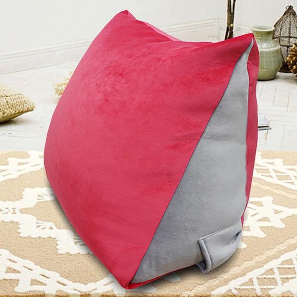 抬腿枕 三角靠枕 蜜絲絨記憶抬腿枕 抗菌纖維 記憶型 抬腿枕 (兩色) GLORIA葛蘿莉雅
