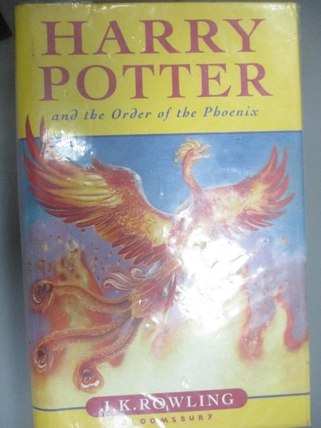 【書寶二手書T1/一般小說_IHO】Harry Potter and the Order of the Phoenix_Rowling, J. K.