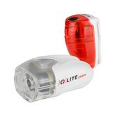 Q-LITE 超值前後燈組(白)