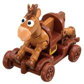 TOMICA 玩具總動員小汽車 紅心&木製推車_DS84473