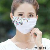 興騰夏季真絲口罩防曬防紫外線女