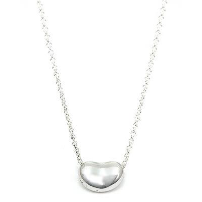 Tiffany & Co. 相思豆mini純銀項鍊