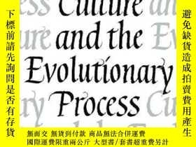 二手書博民逛書店Culture罕見And The Evolutionary Process-文化與進化過程Y443421 Ro