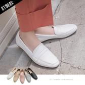 樂福.小方頭紳士樂福鞋(黑)-FM時尚美鞋-訂製款.Ciao