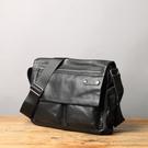 【Solomon 原創設計皮件】焊電匠 斜背包 側背包
