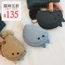 零錢包-韓國可愛小老鼠立體耳朵毛球隨身零錢包收納包手拿包【AN SHOP】