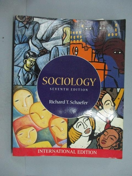 【書寶二手書T4/大學社科_ZKC】Sociology_Richard T. Schaefer
