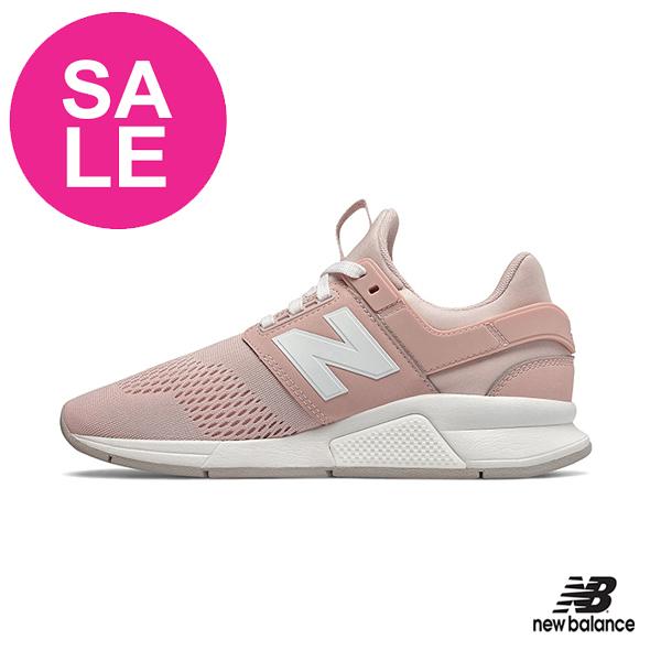 【出清下殺】New Balance 成人女款 247 運動鞋 經典時尚款式 強勢回歸 P8440#粉紅◆奧森