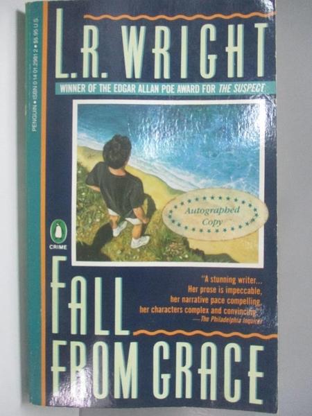 【書寶二手書T2/原文小說_AIB】Fall from Grace_Laurali Wright